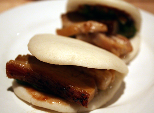 Luscious pork belly, hoisin sauce and scallions make this a bite of heaven.