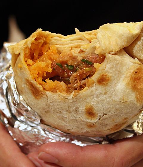 A huge, honking burrito.