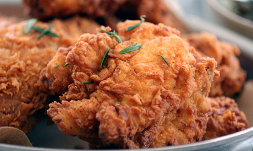 Everyone wants to eat at Ad Hoc on fried chicken night -- for good reason.
