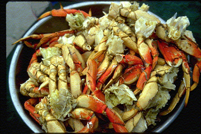 Time for crab in Mendocino County. (Photo courtesy of