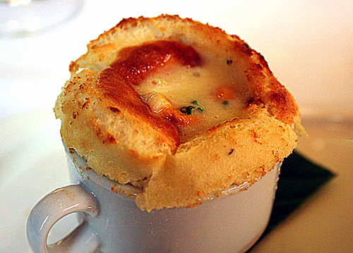 The richest, most decadent souffle ever.