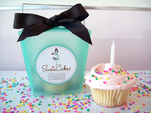 Ten cupcakes sold on opening day at SusieCakes will hold a special surprise. (Photo courtesy of SusieCakes)