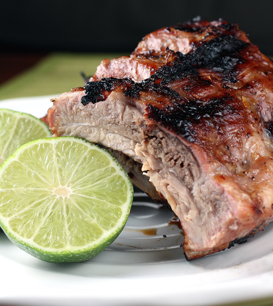 It takes longer to marinate these finger-licking-good, Asian-style ribs than to cook them.
