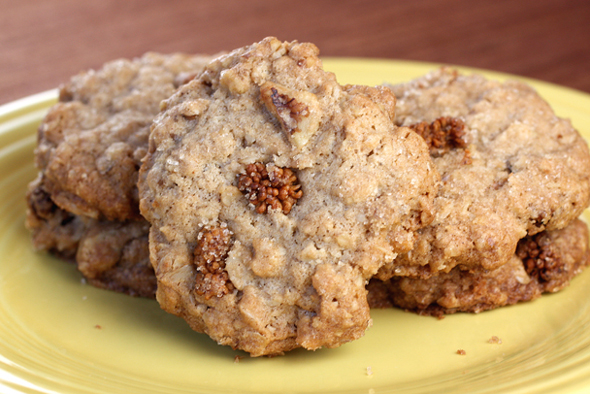 My new -- and old -- favorite oatmeal cookies.