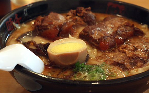 Tender pork rib ramen at Ajisen in Fremont.