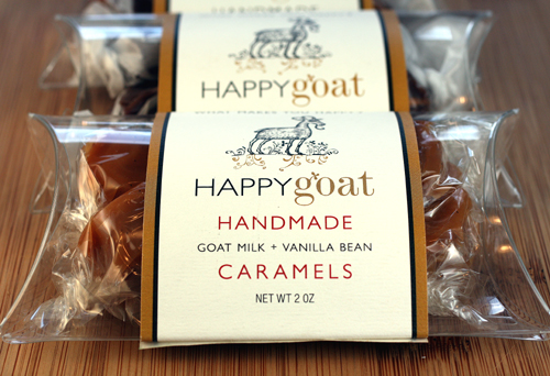 Happy Goat Caramels made in San Francisco.