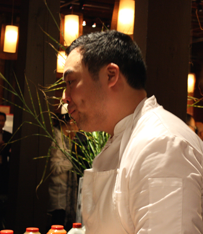 New York sensation, Chef David Chang.