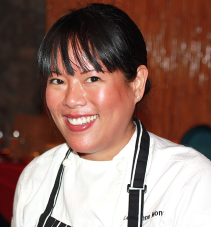 "Chef Lee Ann Wong of ""Top Chef'' fame."