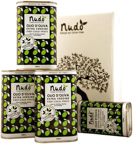 Nudo Italian olive oil. (Photo courtesy of Nudo)