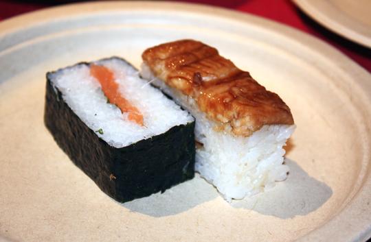 Osaka-style sushi.