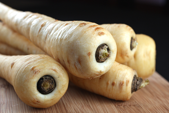 Sweet parsnips.