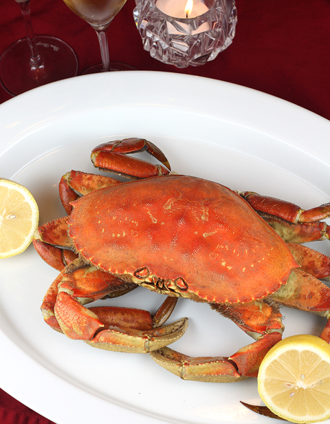 Ring in the New Year with Dungeness crab cooked in beer.