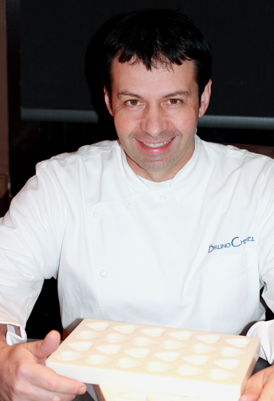Chef Bruno Chemel of Baume.