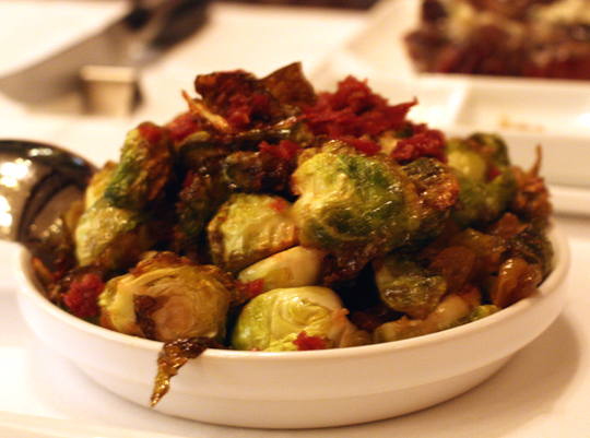 Brussels sprouts made tangy and sweet.