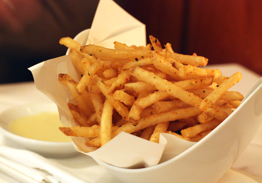 You won't leave any of these fries behind.