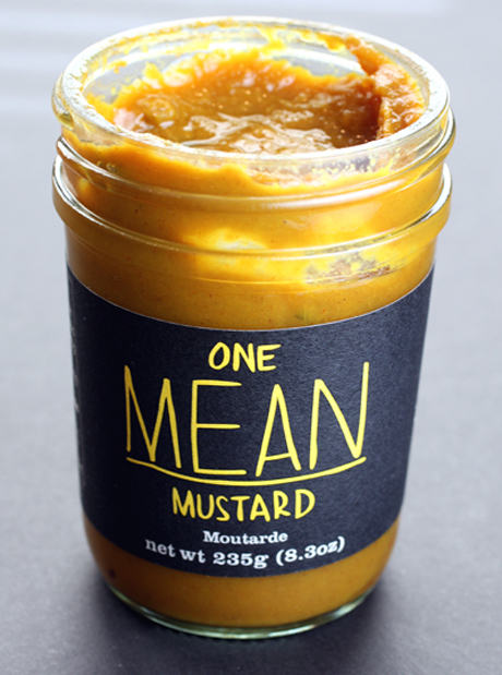 Mustard with a real kick.