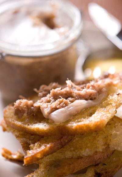 """Potted'' pig. Even the name entices, doesn't it? (Photo courtesy of Farmstead Restaurant)"