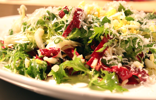 A perfect winter salad.