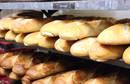 All bread is made in-house. The starter for the sourdough dates back to the 1890s.