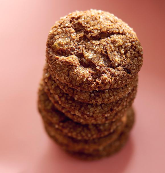 Alice Medrich's ginger cookies. (Photo courtesy of Artisan Books)