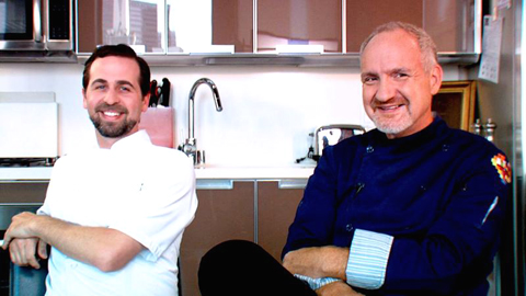 Chefs Tal Ronnen (left) and Art Smith (right). (Photo courtesy of LYFE)