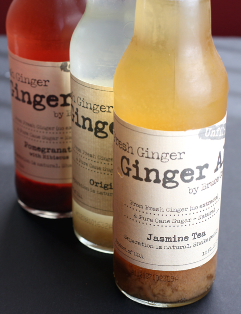 Three new ginger ales by former Bay Area chef, Bruce Cost.