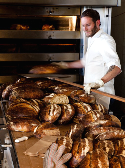 Chad Robertson of Tartine Bakery. (Photo courtesy of the bakery)