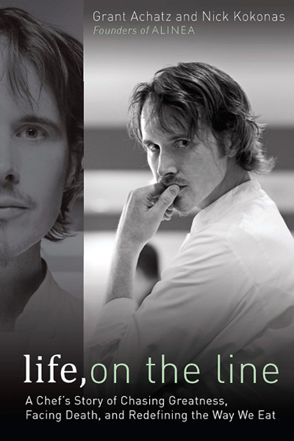 Grant Achatz's new book. (Photo courtesy of Penguin)