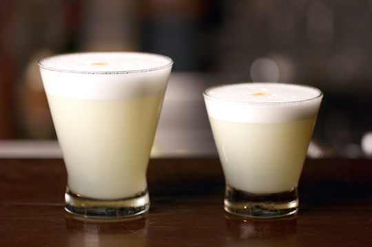 La Mar's Pisco Sours. (Photo courtesy of the restaurant)