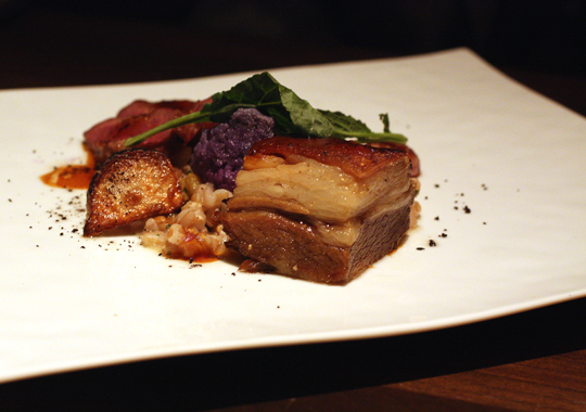 Lamb belly, which must be tried to be believed.