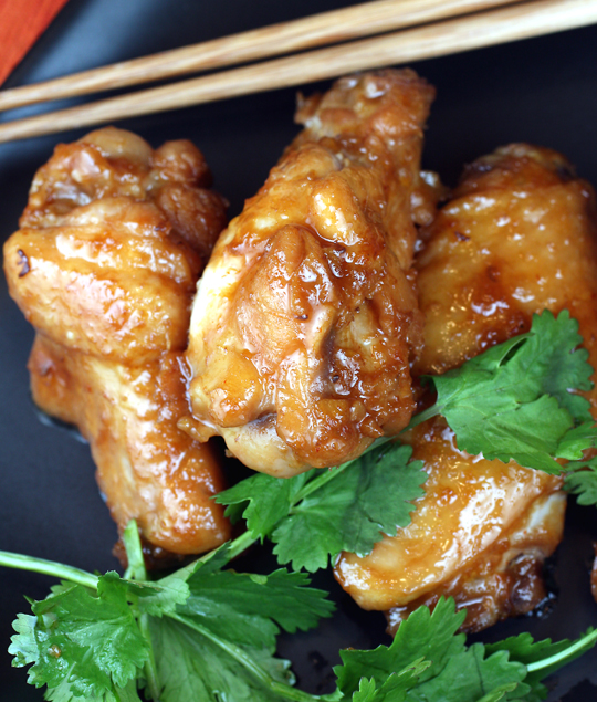 Asian-style chicken wings from a talented Basque chef.