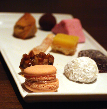 Tiny sweets to end on.