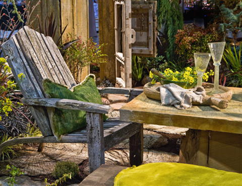 A garden exhibit from a previous year. (Photo courtesy of the San Francisco Flower & Garden Show)