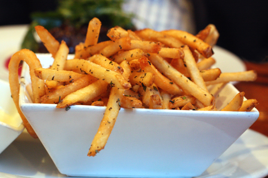 What's a bistro without fries?