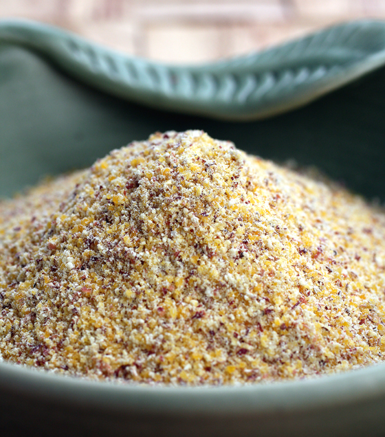 Heritage corn polenta, now available for sale at Oliveto Restaurant.