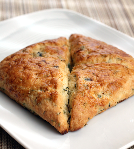 Mushroom-thyme savory scone from Pastry Smart.