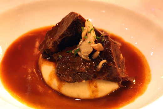 Heavenly beef cheeks.