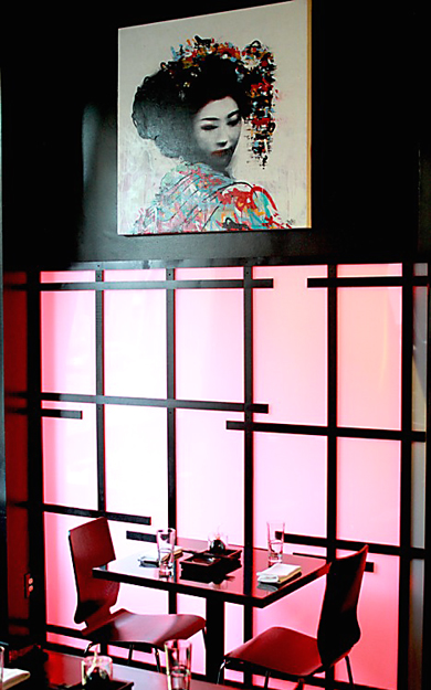The interior of the new Ki in San Francisco. (Photo courtesy of the restaurant)