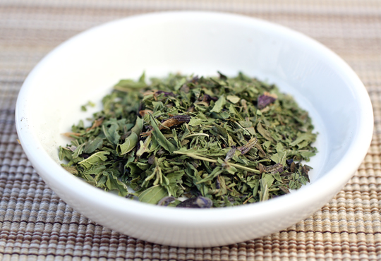 Savory Sunolean Spearmint tea.