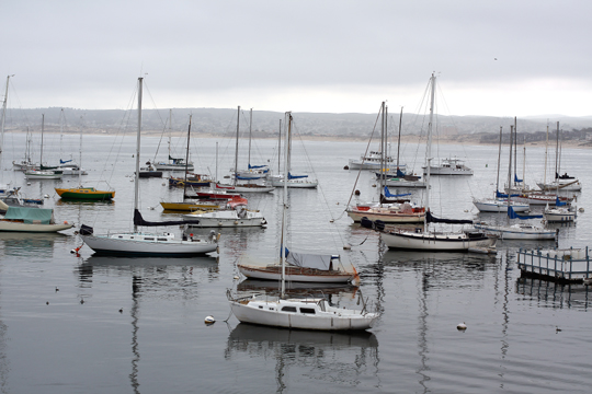 The picturesque Monterey Bay.