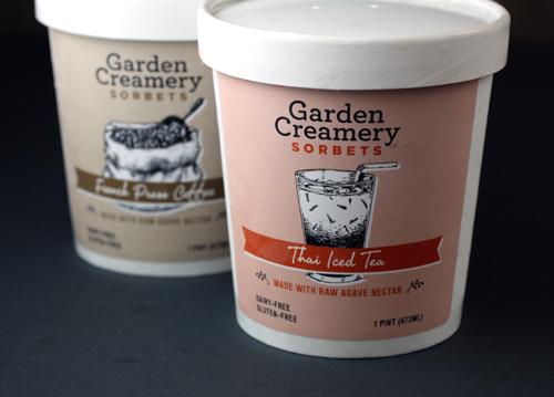 Garden Creamery's newest flavors.