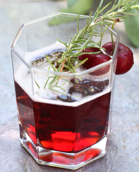 Make your own tart cherry soda.