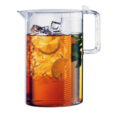 Iced Tea pitcher to make quenching your thirst a breeze. (Photo courtesy of Mighty Leaf)
