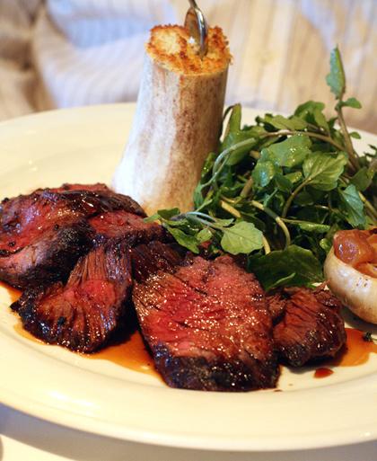 A classic steak....
