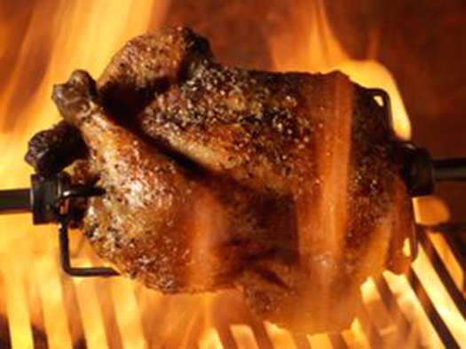 Barbecue chicken and more await you at the Bay Area BBQ Championship. (Photo courtesy of the event organizers)