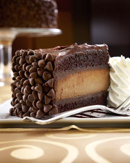 Holy moly -- the new Hershey's Chocolate Cheesecake at the Cheesecake Factory. (Photo courtesy of the restaurant)