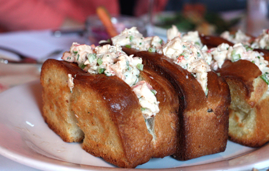 Luscious lobster rolls.