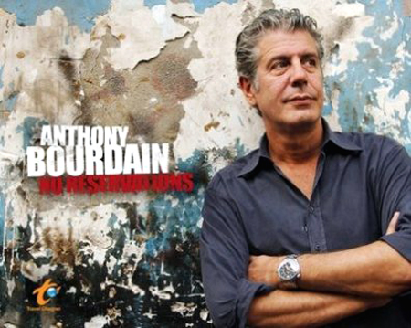 The one and only Anthony Bourdain comes to Oakland. (Photo courtesy of the Travel Channel)