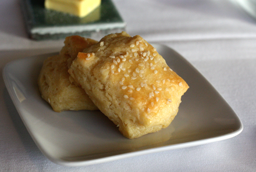 A meal isn't complete without the famous, housemade biscuits.