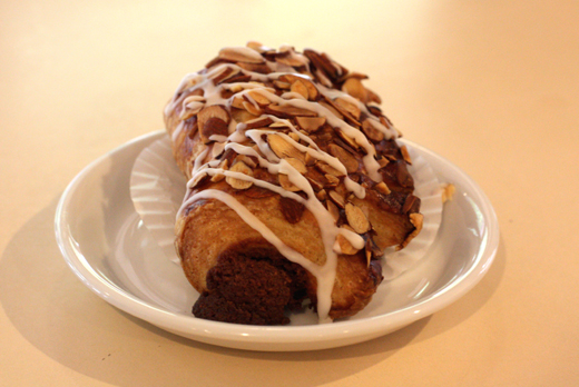 A breakfast bear claw.